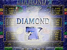 Бриллиантовые Семерки на рабочем зеркале Вулкан