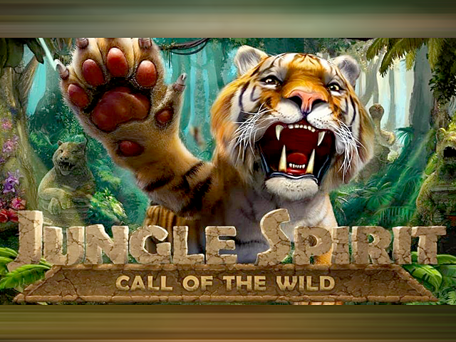 Запускайте вращение барабанов в игровом автомате Дух Джунглей: Зов Дикой Природы