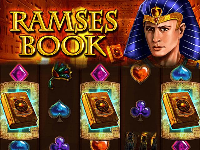 Азартный аппарат Ramses Book: играть онлайн